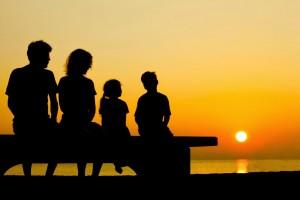 Famiglia_al_Tramonto